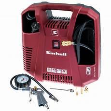 Druckluft Kompressor Für Garage by Einhell Druckluft Kompressor Set Th Ac 190 Kit 214 L Mit