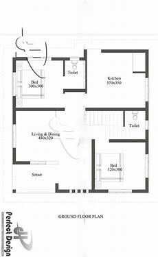 850 sq ft house plan 850 square feet 2 bhk simple and beautiful single floor