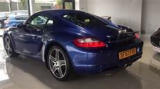 porsche cayman 2 7 987 2dr manual cobalt blue