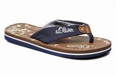 s oliver flip flops in blue at sarenza co uk 179026