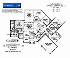amicalola house plan amicalola cottage 17085 3608 garrell associates inc
