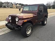 1976 Jeep CJ7 Renegade For Sale  CJ In