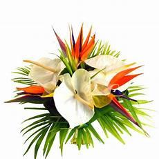 bouquet de fleurs exotiques f 234 te des m 232 res bouquet de fleurs exotiques d 233 licatesse