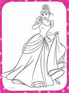 disney princess coloring pages cinderella coloring home