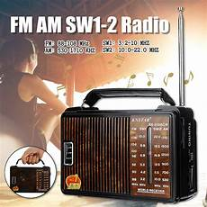 608ac Portable Retro Radio Band Loud by Rx 608ac Dc 3v Portable Fm Am Sw1 Sw2 Radio 4 Band Radio