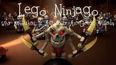 lego ninjago why samukai is actually an great villain