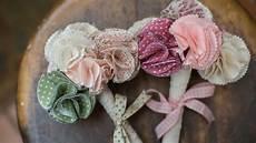 bouquet de fleurs en tissu 1001 id 233 es comment faire des fleurs en tissu impressionnantes