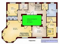 Atrium Bungalow 15 130 16 Grundriss Mit Erker Und Turm