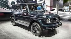 2019 Mercedes G Class Design Background Autoblog