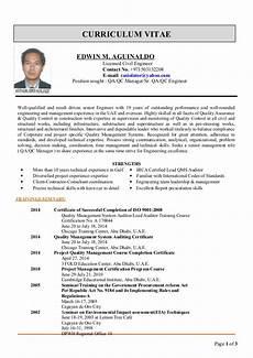 curriculum vitae operations manager guatemalago