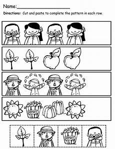 cut and paste patterns worksheets for kindergarten 309 pin on kinderland collaborative