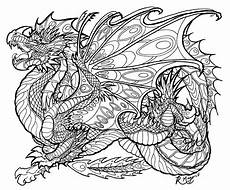 coloring pages for adults difficult dragons at getdrawings