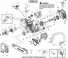 Poulan Pp4218 Gas Saw Type 1 4218 Poulan Pro Parts Diagrams