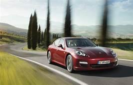POWER CARS Porsche Panamera Ruby Red Metallic