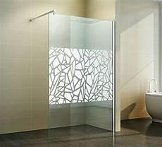 Duschwand Glas Walk In - walk in duschabtrennung scherben design spiegel