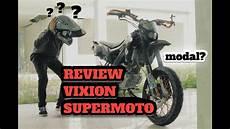 Modifikasi Helm Yamaha Vixion by Modifikasi Vixion Supermoto Yamaha Vixion Modif