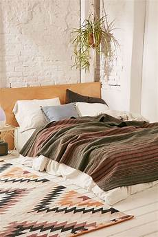 pendleton hemrich striped c bed blanket bed bohemian bedroom decor home