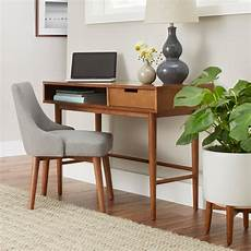 better homes and gardens office furniture better homes gardens flynn mid century modern desk