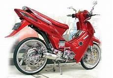Modifikasi Honda Supra 2002 by Steady Sporty Modifikasi Honda Supra X 2003