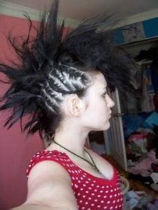 braided mohawk 183 a mohawk hairstyle 183 hair styling on cut out keep 183 creation by sasha