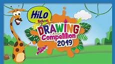 Cara Ikutan Hilo School Drawing Competition 2019
