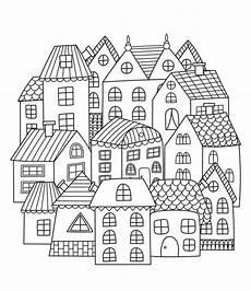 Ausmalbilder Weihnachten Haus Haus Zum Ausmalen F 252 R Kinder 1ausmalbilder