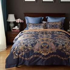 palace cotton bedding king size luxury bed