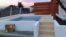 piscine su terrazzi foto mini piscina idromassaggio di sc termoidraulica srl