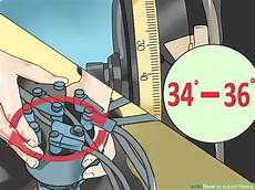 how to adjust timing 12 steps with pictures wikihow