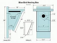 bluebird bird house plans how to build a peterson slant front style bluebird house