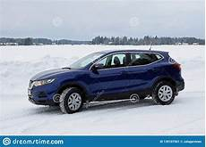 new nissan qashqai 2019 model color ink blue in snowy