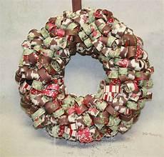 stempelhaus adventskranz aus papier