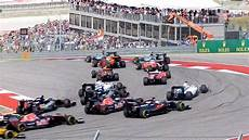 Formula 1 2016 United States Gp Start Tx