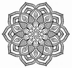 the big flower mandalas with flowers vegetation 100