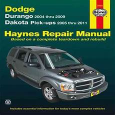 dodge durango dakota haynes repair manual 1997 1999 hay30021 haynes repair manual dodge durango 2004 thru 2009 and dakota pick ups 2005 thru 9781563929564 ebay