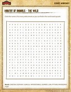animal science worksheets for high school 14040 animals word search science worksheets for sod