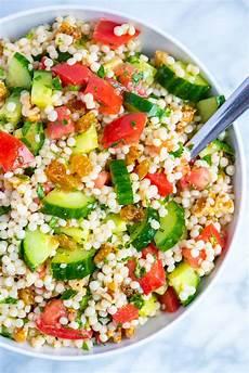 Rezept Couscous Salat - our favorite lemon herb couscous salad