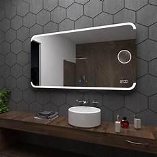 badspiegel mit led assen badspiegel mit led beleuchtung mit schminkspiegel