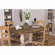 table extensible bois 15517 table ovale extensible avec 2 pieds en bois massif 160 230x120 cm demeure et jardin