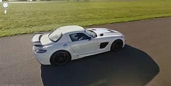 Top Gear Test Track Google Street View Vs Mercedes SLS