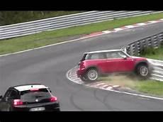 unfall nürburgring 2015 mini cooper crash nordschleife n 252 rburgring unfall