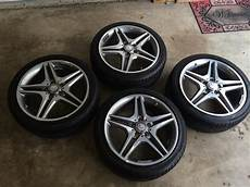 18 quot oem mercedes amg wheels and tires from a new 2014