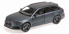 2013 audi rs6 avant in matt grey diecast model in 1 18