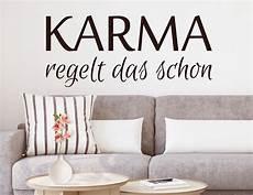 Wandtattoo Karma Regelt