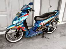 Modifikasi Motor Vario Lama by Modifikasi Motor Honda Vario Modifikasi Motor Matic