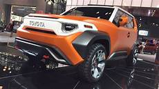 toyota ft4x concept car first design review live from the nyautoshow youtube