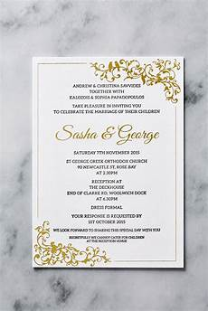 Printing Wedding Invites