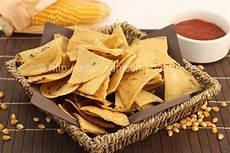 tortilla chips selber machen aus maistortillas