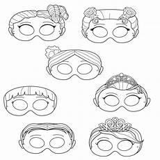 princesses printable coloring masks princess masks prince
