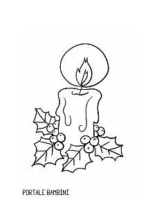 candela da colorare scoprite le candele di natale da colorare su portale